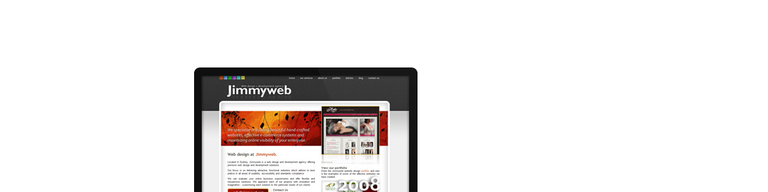Jimmyweb - A Sydney Web Development Agency