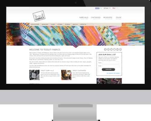 Tessuti Fabrics Website