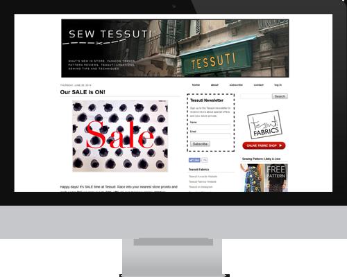 Tessuti Fabrics Blog