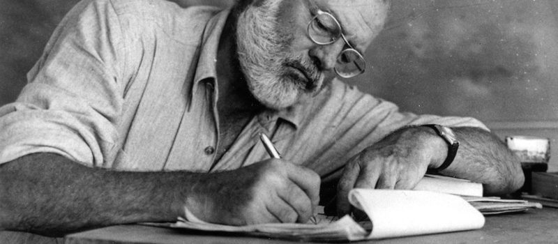 Write website copy like Hemingway