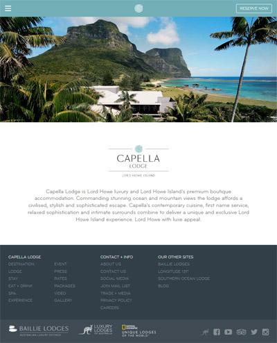 Capella Lodge