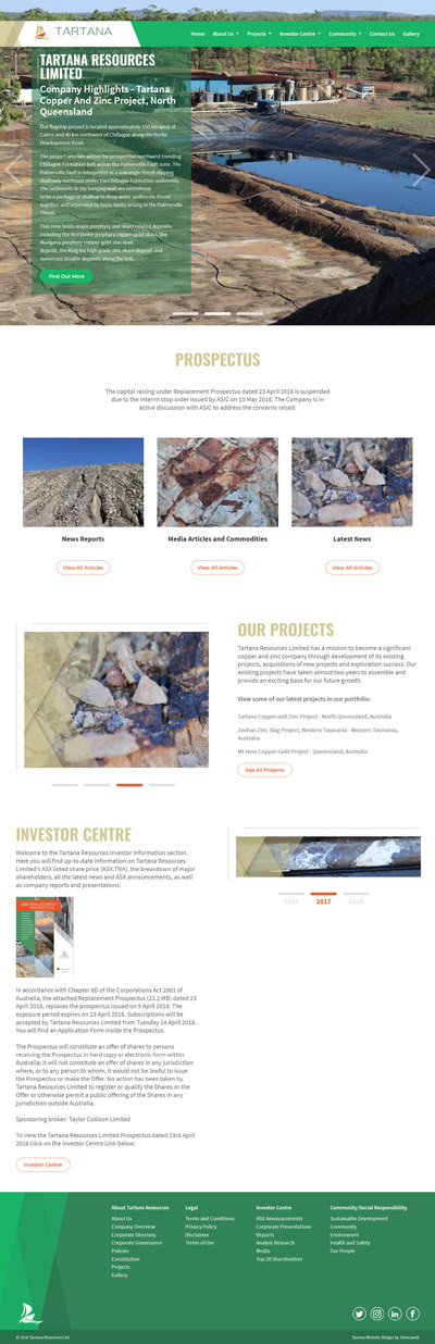 Tartana Resources
