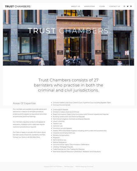 Trust Chambers