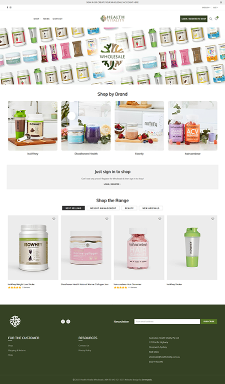 Health Vitality Wholesale